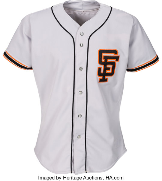 low priced da12f cffd5 1988 Will Clark Game Worn San Francisco Giants Jersey with ...