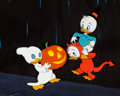 Animation Art:Production Cel, Trick or Treat/All About Magic Huey, Dewey, and LouieProduction Cel (Walt Disney, 1952/57). ...