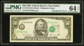 Error Notes:Shifted Third Printing, Misaligned Third Printing Error Fr. 2124-K $50 1990 Federal Reserve Note. PMG Choice Uncirculated 64 EPQ.. ...