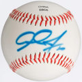 Autographs:Baseballs, Adam Jones Single Signed Baseball. ...