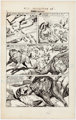 """L. B. Cole Classics Illustrated #152 """"Wild Animals I have Known"""" Complete 7-Page Story and More Original Art G..."""