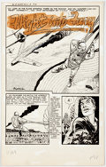 "Original Comic Art:Complete Story, Bob Powell The United States Marines #8 (A-1 #72)""Flight Into Fury"" Complete 7-Page Story Original Ar... (Total: 7Original Art)"