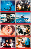 "Movie Posters:James Bond, The Spy Who Loved Me (United Artists, 1977). Mini Lobby Card Set of8 (8"" X 10""). James Bond.. ... (Total: 8 Items)"