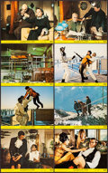 "Movie Posters:James Bond, On Her Majesty's Secret Service (United Artists, 1970). Mini LobbyCard Set of 8 (8"" X 10""). James Bond.. ... (Total: 8 Items)"