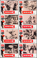 """Movie Posters:James Bond, Viva James Bond: You Only Live Twice (United Artists, R-1970). Lobby Card Set of 8 (11"""" X 14""""). Border artwork by Yves Thos.... (Total: 8 Items)"""
