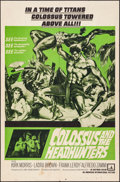 "Movie Posters:Adventure, Colossus and the Headhunters (American International, 1960). OneSheet (27"" X 41""). Adventure.. ..."