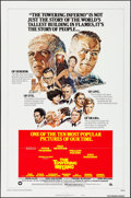 "Movie Posters:Action, The Towering Inferno (20th Century Fox, R-1976). One Sheet (27"" X41"") Style B. Action.. ..."