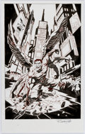 Original Comic Art:Splash Pages, Bruce Zick Mandala Graphic Novel Story Page 98 Original Art(Dark Horse, 2014)....