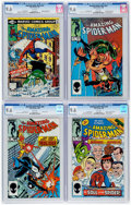 Modern Age (1980-Present):Superhero, The Amazing Spider-Man CGC-Graded Group of 4 (Marvel, 1981-86) CGCNM+ 9.6.... (Total: 4 Comic Books)