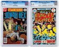 Bronze Age (1970-1979):Western, Jonah Hex/Richard Dragon Group of 2 (DC, 1975-77) CGC VF 8.0.... (Total: 2 Comic Books)