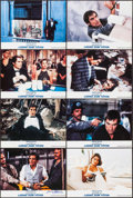 "Movie Posters:James Bond, Licence to Kill (UIP, 1989). German Autographed Lobby Card &Lobby Cards (7) (7"" X 11""). James Bond.. ... (Total: 8 Item)"