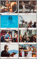 """Movie Posters:James Bond, Never Say Never Again (Warner Brothers, 1983). Lobby Card Set of 8(11"""" X 14""""). James Bond.. ... (Total: 8 Items)"""