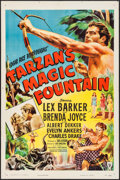 "Movie Posters:Adventure, Tarzan's Magic Fountain (RKO, 1949). One Sheet (27"" X 41"").Adventure.. ..."