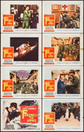 "Movie Posters:War, A Farewell to Arms (20th Century Fox, 1958). Lobby Card Set of 8 (11"" X 14""). War.. ... (Total: 8 Items)"