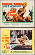 """Movie Posters:Drama, Bus Stop & Other Lot (20th Century Fox, 1956). Lobby Card &Title Lobby Card (11"""" X 14""""). Drama.. ... (Total: 2 Items)"""