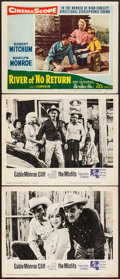 """Movie Posters:Drama, The Misfits & Other Lot (United Artists, 1961). Lobby Card (3)(11"""" X 14""""). Drama.. ... (Total: 3 Items)"""