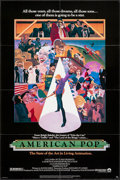 "Movie Posters:Animation, American Pop & Other Lot (Columbia, 1981). One Sheets (2) (27"" X 41""). Animation.. ... (Total: 2 Items)"