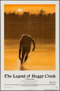 """Movie Posters:Thriller, The Legend of Boggy Creek (Howco, 1973). One Sheet (27"""" X 41""""). Thriller.. ..."""