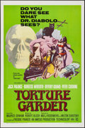 "Movie Posters:Horror, Torture Garden (Columbia, 1967). One Sheet (27"" X 41""). Horror.. ..."
