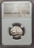 Ancients:Greek, Ancients: LYCIA. Phaselis. Ca. 4th century BC. AR stater (10.34gm). NGC MS 5/5 - 4/5....
