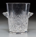 Decorative Arts, French:Other , A Large Klein Baccarat Glass Wine Cooler, late 20th century. Marks:KLEIN, BERTRICHAMPS, 54120, BACCARAT, FRANCE, 28/150...