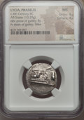 Ancients:Greek, Ancients: LYCIA. Phaselis. Ca. 4th century BC. AR stater (10.29gm). NGC MS 4/5 - 4/5....
