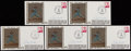 Autographs:Letters, 1980 Steve Carlton First Day Covers (Lot of 5)....