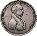 Political:Tokens & Medals, James Monroe: Indian Peace Medal with Tomahawk....