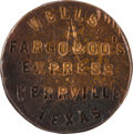 Western Expansion:Cowboy, Rare Wells Fargo Wax Seal from Kerrville, Texas....