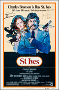 """Movie Posters:Action, St. Ives & Others Lot (Warner Brothers, 1976). Autographed One Sheet & One Sheets (2) (27"""" X 41""""). Action.. ... (Total: 3 Items)"""