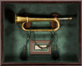 Political:Memorial (1800-present), The Bugle Which Sounded Taps for Lincoln. ...