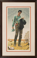 Political:3D & Other Display (1896-present), Abraham Lincoln: Norman Rockwell Signed Lithograph. ...