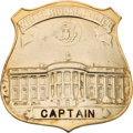 Political:Miscellaneous Political, White House Police: Captain's Badge....