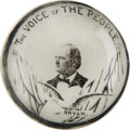 """Political:3D & Other Display (1896-present), William Jennings Bryan: Unusual """"Slogan"""" Paperweight...."""