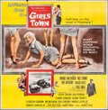 "Movie Posters:Bad Girl, Girls Town (MGM, 1959). Six Sheet (78.5"" X 80""). Bad Girl.. ..."
