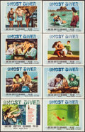 "Movie Posters:Adventure, Ghost Diver (20th Century Fox, 1957). Lobby Card Set of 8 (11"" X14""). Adventure.. ... (Total: 8 Items)"