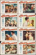 """Movie Posters:Adventure, The Naked Jungle (Paramount, 1954). Lobby Card Set of 8 (11"""" X14""""). Adventure.. ... (Total: 8 Items)"""