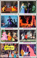 "Movie Posters:Animation, Sleeping Beauty (Buena Vista, R-1970, R-1979). Title Lobby Card& Lobby Cards (5) (R-1970) (11"" X 14"") & Lobby Cards (2)(R-... (Total: 8 Items)"