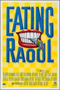 """Eating Raoul (20th Century Fox, 1982). Autographed One Sheet (27"""" X 41""""). Comedy"""