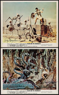 """Movie Posters:Fantasy, Jason and the Argonauts (Columbia, 1963). Autographed Color Photos (2) (8"""" X 10""""). Fantasy.. ... (Total: 2 Items)"""