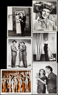 "Rita Hayworth Lot (Columbia, 1940). Photos (5) & Color Glos Photo (Approx. 8"" X 10""). Miscellaneous. ... (..."