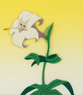 Animation Art:Production Cel, Alice in Wonderland Lilly Flower Production Cel (WaltDisney, 1951). ...