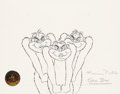 Animation Art:Production Drawing, Horton Hears a Who Wickersham Brothers Animation Drawing(MGM, 1970). ...