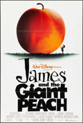 """Movie Posters:Animation, James and the Giant Peach & Other Lot (Buena Vista, 1996). OneSheets (2) (27"""" X 40"""", 26.75"""" X 39.75"""") DS. Animation.. ... (Total:2 Items)"""