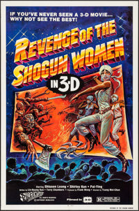 "Revenge of the Shogun Women & Other Lot (20th Century Fox, 1982). One Sheets (2) (27"" X 41"") 3-D Style. Ac..."