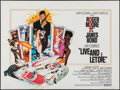 "Movie Posters:James Bond, Live and Let Die (United Artists, 1973). British Quad (30"" X 40"").James Bond.. ..."