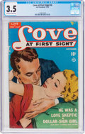 Golden Age (1938-1955):Romance, Love at First Sight #6 (Ace, 1950) CGC VG- 3.5 Off-white to whitepages....