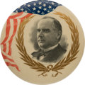 Political:Pinback Buttons (1896-present), William McKinley: Graphic Large Portrait Button....