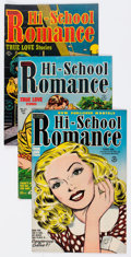 Golden Age (1938-1955):Romance, Hi-School Romance Group of 11 (Harvey, 1949-54) Condition: AverageVF/NM.... (Total: 11 Items)