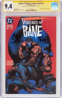 Batman: Vengeance of Bane Special #1 Signature Series (DC, 1993) CGC NM 9.4 White pages